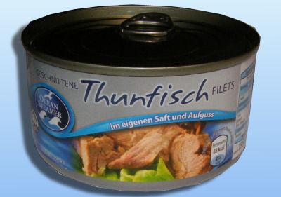 Thunfisch im eigenem Saft, Mai 2012