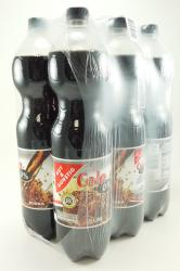 Cola Mix, 0 % Zucker, 6 x 1,5 l, Oktober 2012