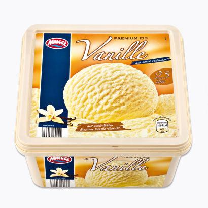 Premium Vanille-Eiskrem, Februar 2012