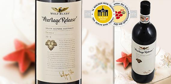 Shiraz Heritage Release, Dezember 2012