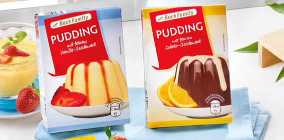 Puddingpulver mit Vanille-Geschmack, 5x 38 g, Februar 2011