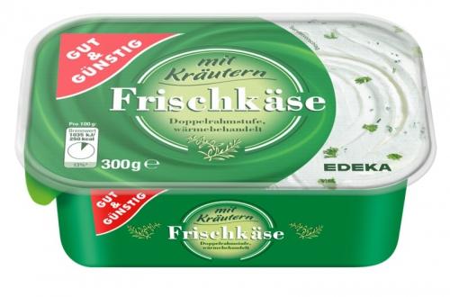 Frischkäse Kräuter Doppelrahmstufe, M�rz 2018