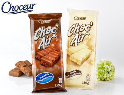 Choc' Air, Luftschokolade, M�rz 2014