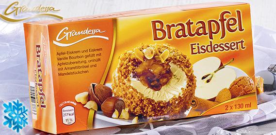 Bratapfel Eisdessert, 2x 130 ml, Dezember 2012