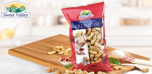 Jumbo-Erdnüsse, geröstet, Oktober 2008