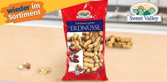 Jumbo-Erdnüsse, geröstet, Oktober 2010