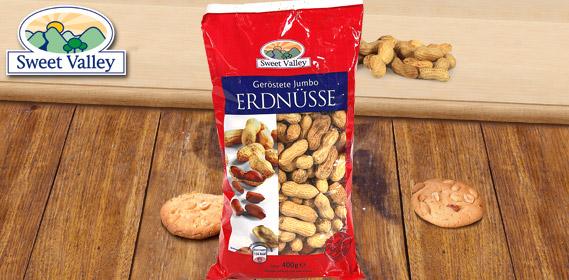 Jumbo-Erdnüsse, geröstet, Oktober 2011