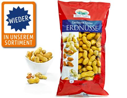 Jumbo-Erdnüsse, geröstet, September 2013