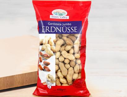 Jumbo-Erdnüsse, geröstet, Oktober 2013