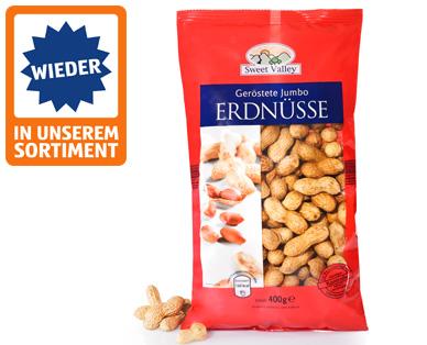 Jumbo-Erdnüsse, geröstet, September 2014