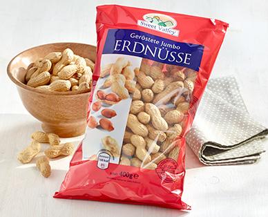 Jumbo-Erdnüsse, geröstet, Dezember 2014