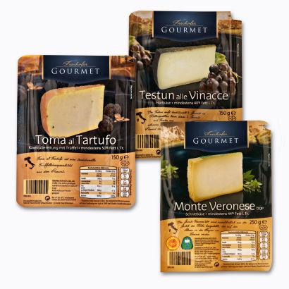 Käseselektion aus Italien, Oktober 2012