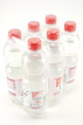 Mineralwasser, still, 6 x 0,5 l, November 2012