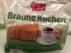 Braune Kuchen, November 2017