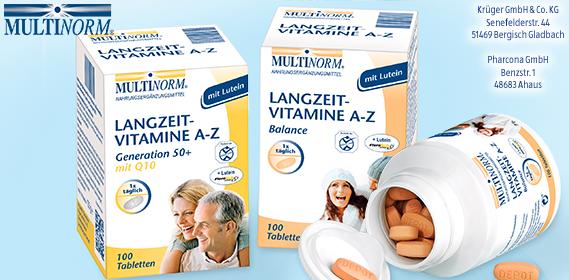 Langzeit-Vitamine A-Z, Dezember 2012