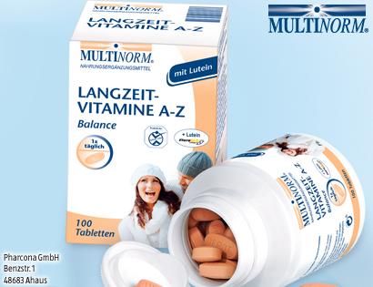 Langzeit-Vitamine A-Z, Oktober 2013