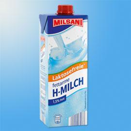 Laktosefreie fettarme H-Milch, November 2010