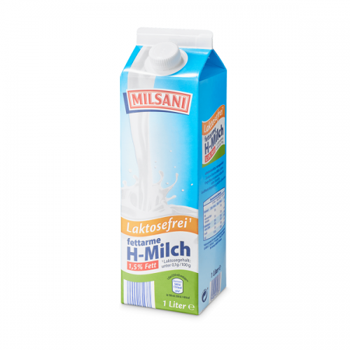 Laktosefreie fettarme H-Milch, November 2017
