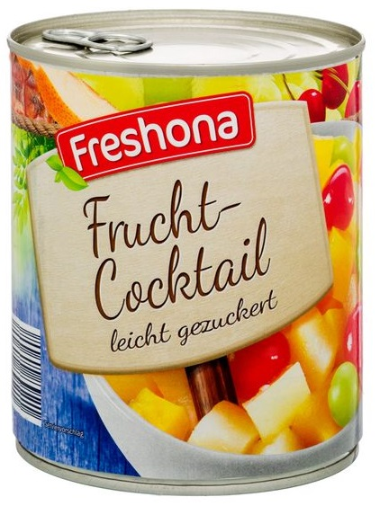 Fruchtcocktail, Juni 2017