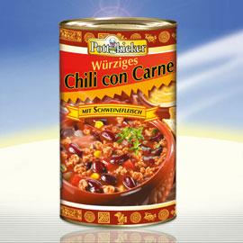 Chili con carne, November 2010
