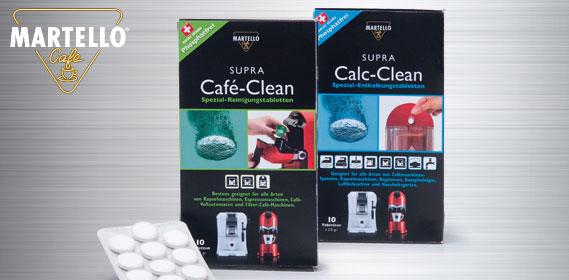 Reinigungstabletten für Kaffee-Maschinen Supra Calc-Clean , M�rz 2012