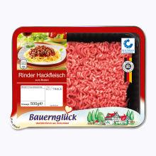 frisches Rinderhackfleisch, M�rz 2014