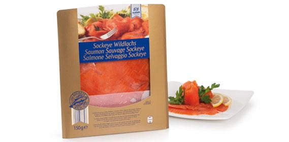 MSC Sockeye Wildlachs, geräuchert, November 2013