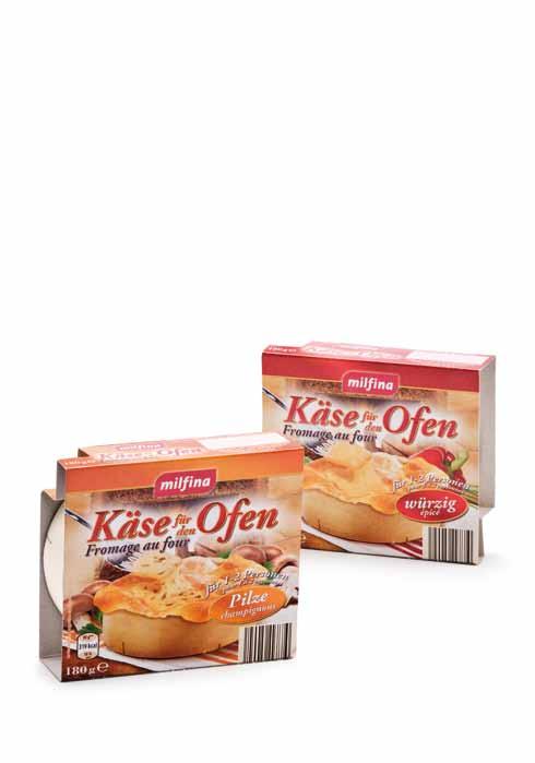 Käse für den Ofen, Oktober 2012