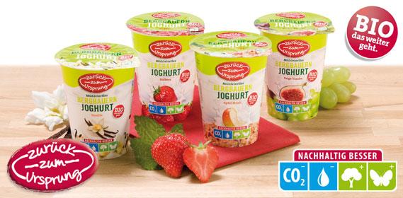 Bio-Bergbauern Frucht- joghurt 3,5 %, Februar 2012