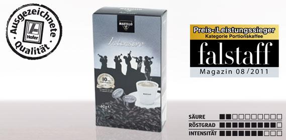 Kaffee-Kapsel Intensivo, Februar 2012