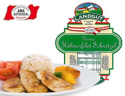 Hühnerfilet-Schnitzel, Februar 2014