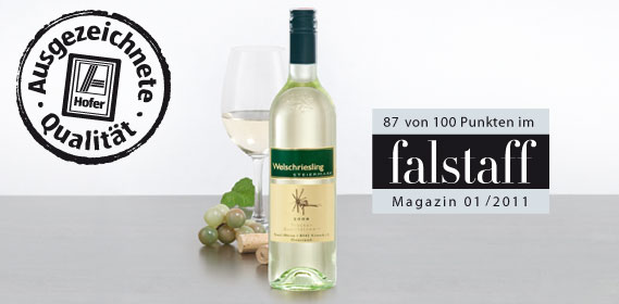 Welschriesling (steirischer Qualitätswein), Februar 2012