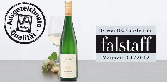 Grüner Veltliner Rieden Selection, Februar 2012