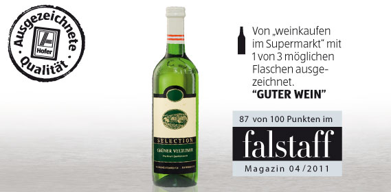 Grüner Veltliner Selection, Februar 2012