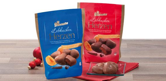Lebkuchen-Herzen, September 2012