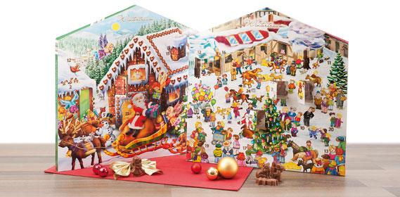 Pralinen Adventkalender, Oktober 2012