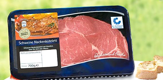 Schweine-Nackenkotelett, Juli 2011