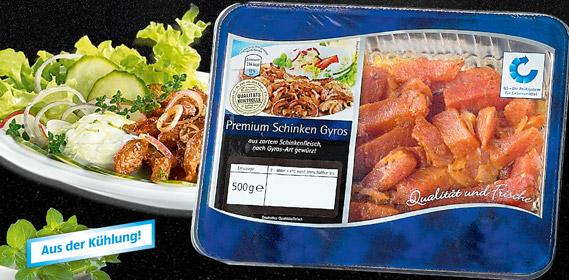 Premium Schinken Gyros, April 2011