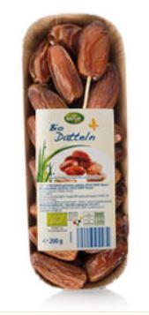 Bio-Datteln, getrocknet, Dezember 2013