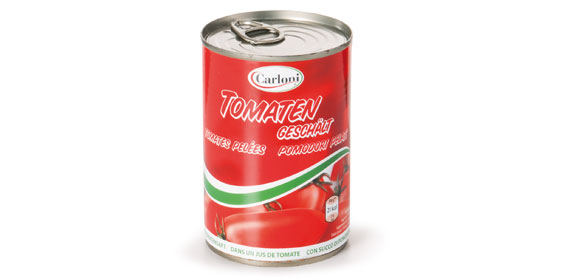 Geschälte Tomaten, Dezember 2013