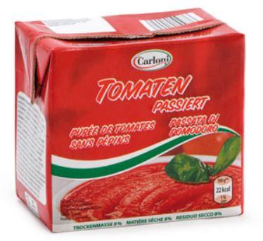 Passierte Tomaten, Dezember 2013