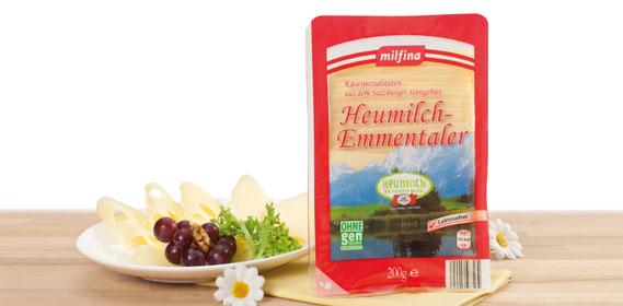 Emmentaler in Scheiben, Oktober 2013