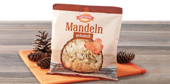 Mandeln, gehobelt, September 2012