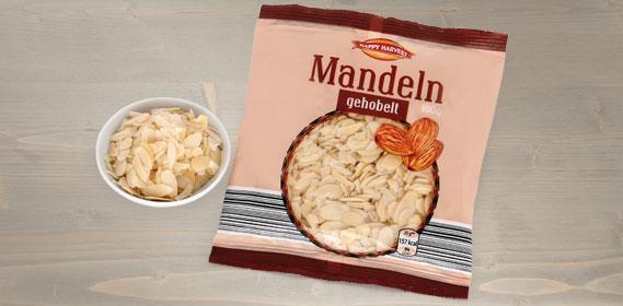 Mandeln, gehobelt, September 2013