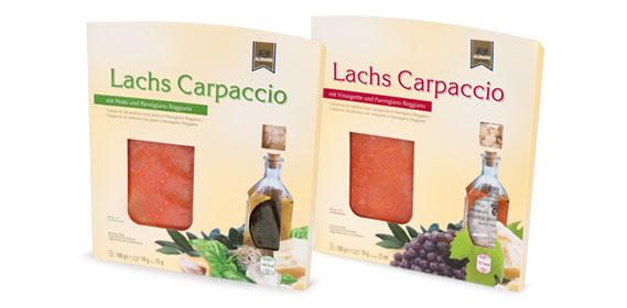 Lachs Carpaccio, August 2013