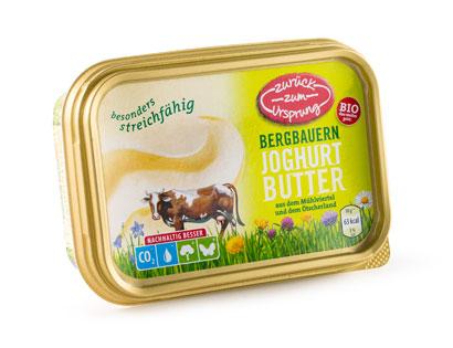 Bio-Bergbauern Joghurtbutter, M�rz 2014