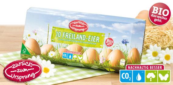 Bio-Freiland-Eier, Januar 2014