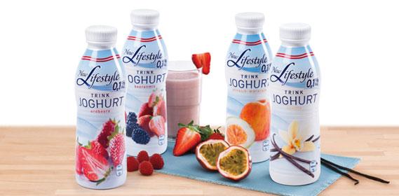 Trink-Joghurt fettreduziert, Januar 2014