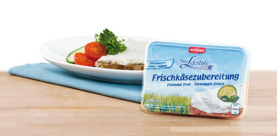 Frischkäsezubereitung leicht  (New Lifestyle), Februar 2012