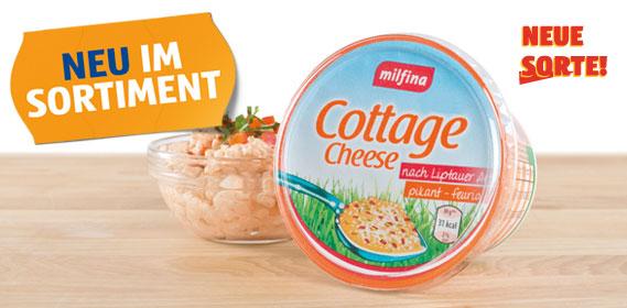 Cottage Cheese nach Liptauer Art, November 2012